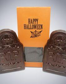 Chocolate Tombstone Bars RIP