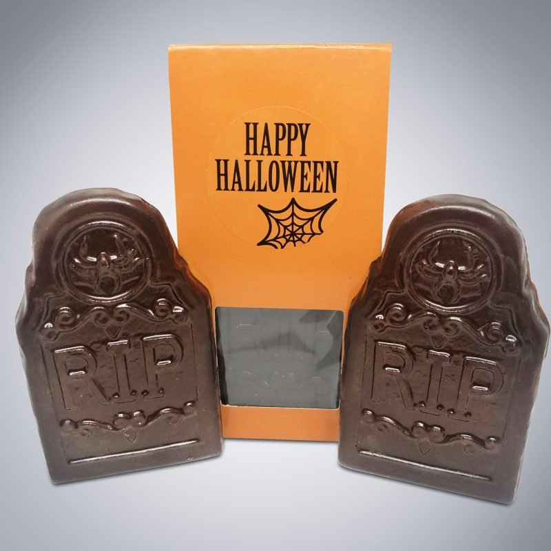Chocolate Tombstone Bars RIP