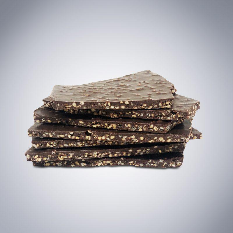 Chocolate Quinoa Bark alone Safe Granola Bark 4-Pack