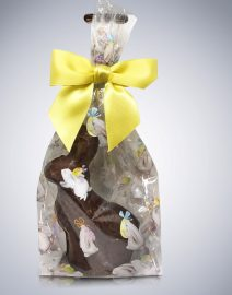 """Hoppy to See You"" Chocolate Easter Bunnies"