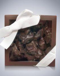 Chocolate Raisin Bites w raisins outside