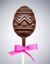 Easter Egg Chocolate Lollipop
