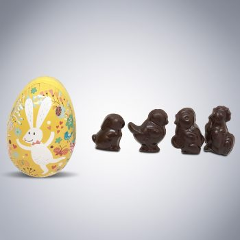 Peter Cottontail Chocolate Easter Egg