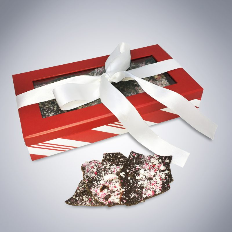 Peppermint Bark box and stack