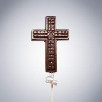 Easter Cross Chocolate Lollipop