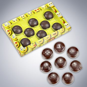 chocolate emoji gift box