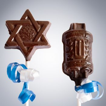 Chocolate Faith-Based Lollipops