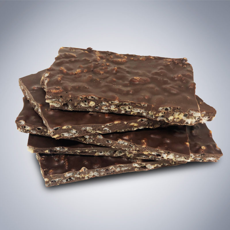 Chocolate Rice Crisp Bark