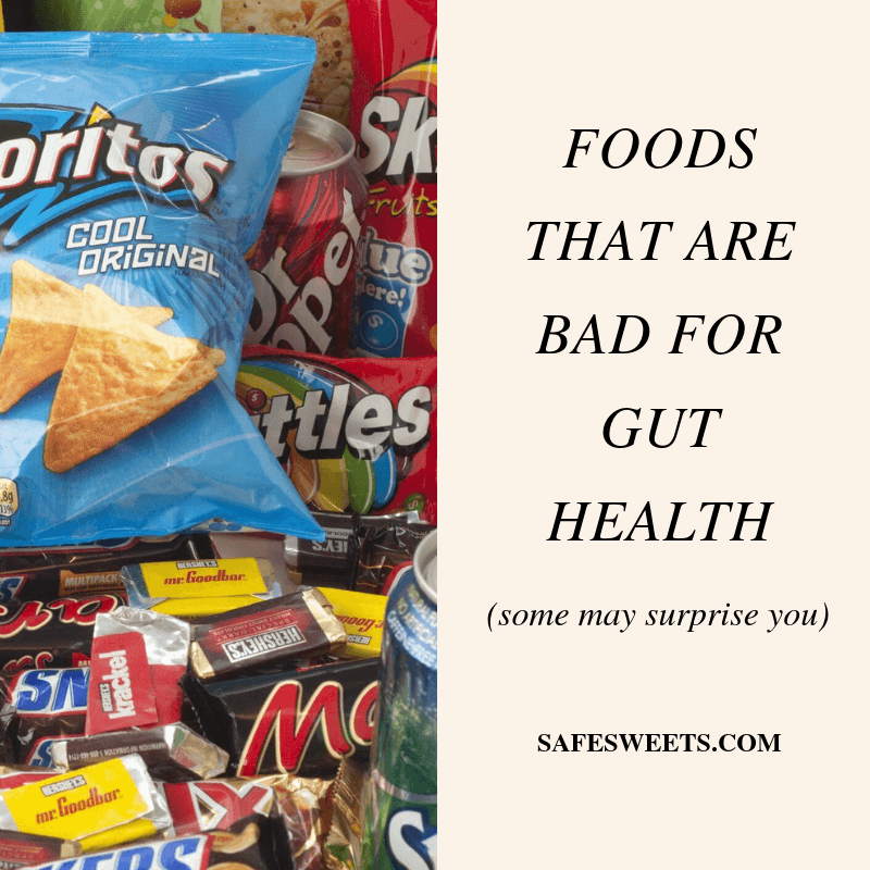 foods that are bad for gut health
