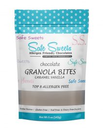 Chocolate Granola Bites - Caramel Vanilla
