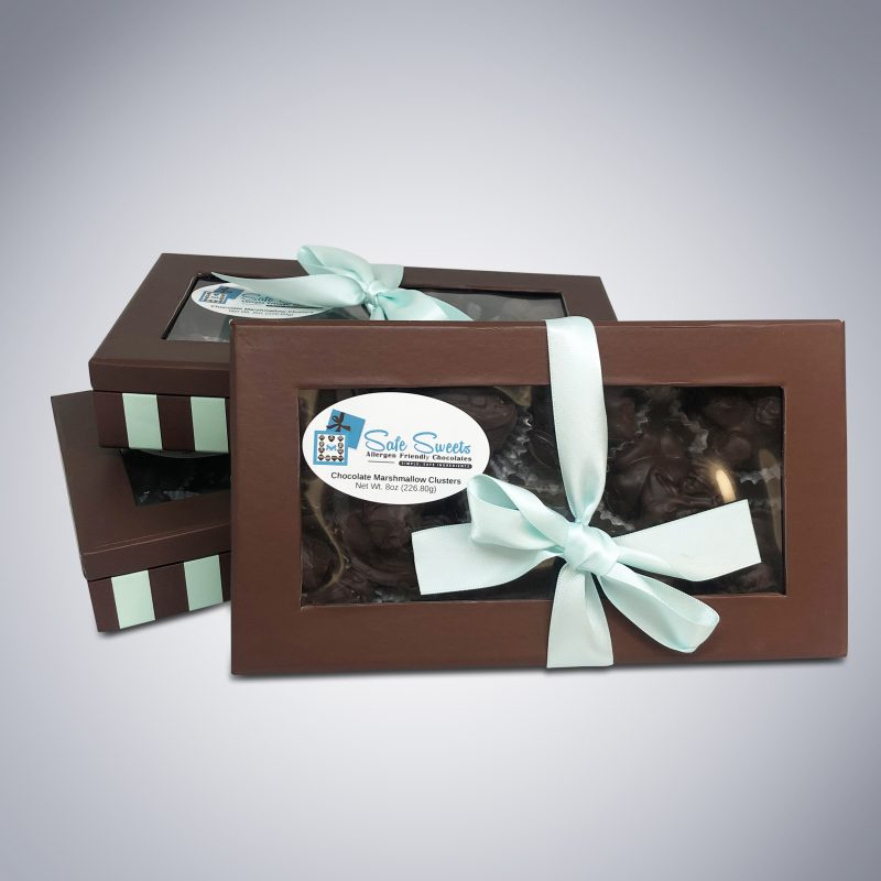 Chocolate Marshmallow Clusters boxes-2