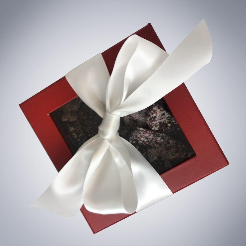 Chocolate Peppermint Bark box