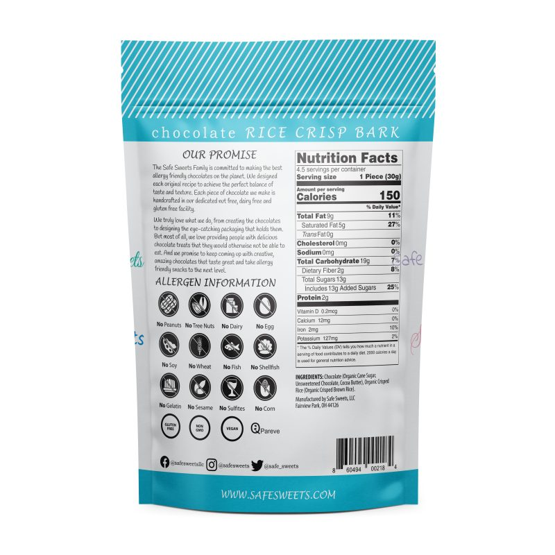 Gluten-Free Chocolate Rice Crisp Bark