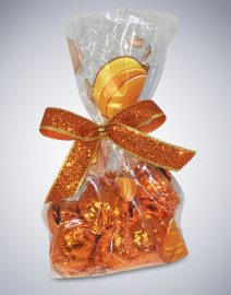 Chocolate Harvest Pumpkin Bag Halloween