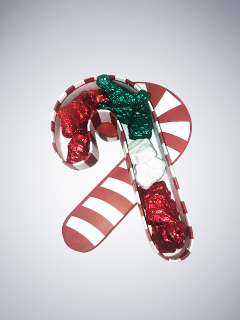 Chocolate Candy Cane Gift Box--2