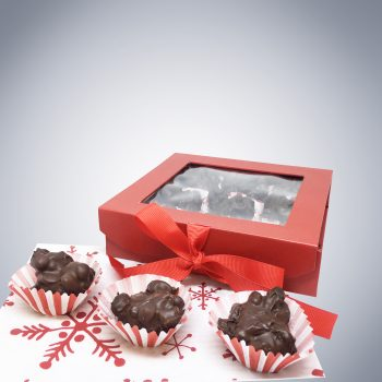 Chocolate Raisin Clusters holiday