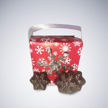 Chocolate Snowflake box Christmas Bundle #2