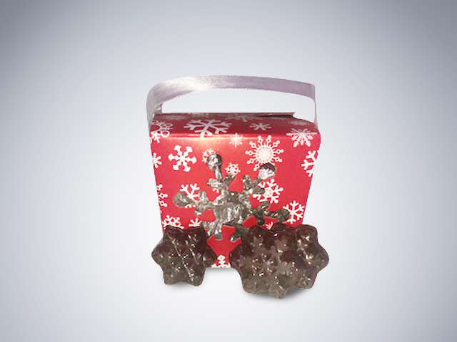 Chocolate Snowflake box Christmas Bundle #2