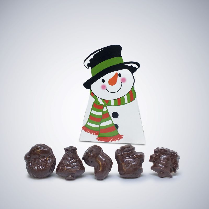 "Chocolate ""Frosty's Treats"" Snowman Box Christmas Bundle"