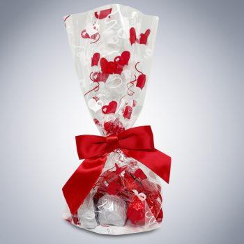 "Chocolate ""Here's My Heart"" Gift Bag"