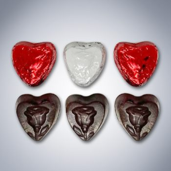 "Chocolate ""Here's My Heart"" Gift Bag pieces"