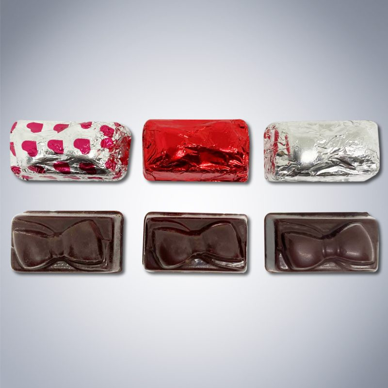 Chocolate Sweet Heart Present Box pieces