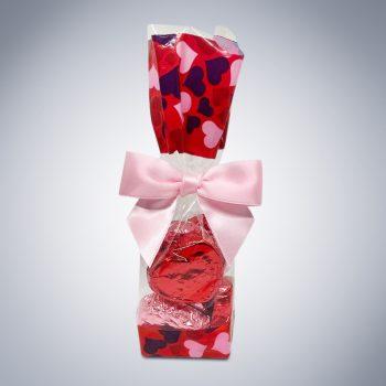"Chocolate ""Be Mine"" Heart Bag"